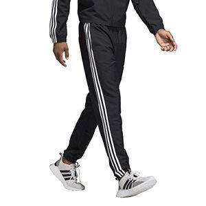 adidas Men's E 3S WIND PNT Sport Trousers, Black/White, 2XLS
