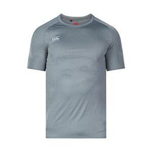Canterbury Men's Vapodri Superlight T-Shirt, Grey (Static Marl), Large