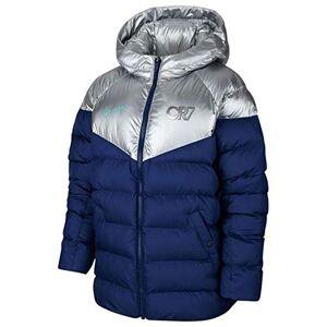 Nike Cr7 Jackets, Children, boys, BV8179, Blue Void/metallic Silver/hyper Jade, S