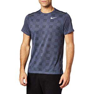 Nike Men's M Nk Df Miler Top Ss Jac T-Shirt, Cinnamon/Light Redwood/Reflective Silver, S