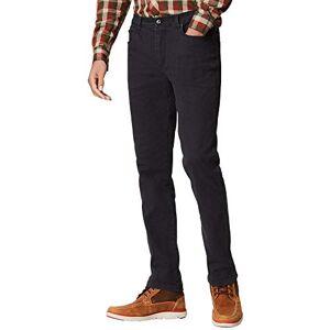Regatta Men's Larimar Coolweave Cotton Trousers, Black, Size 38-Inch