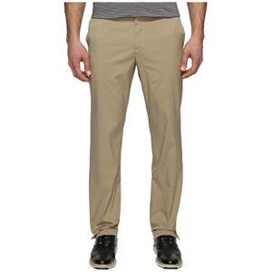 Nike Men's Flat Front Trouser, Brown, Size 36-34