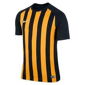 Nike SS StripeD Segment III JSY Tee for Man, Black (Black/University Gold/Black/White), M