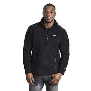 Trespass Men's Bernal Warm Fleece Jacket, Black, Large