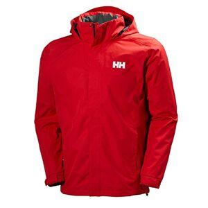 Helly Hansen Men's Dubliner Rain Jacket,Flag Red, XL