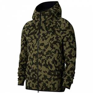 Nike Unknown Nike Sportswear Tech Fleece Jacket, Men, mens, Jacket, CJ5975, Medium Olive/black, S