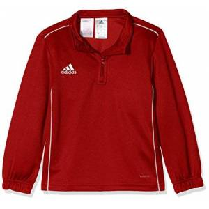 adidas Kid's Core 18 Training Top, Power Red/White, 9/10 Years Manufacturer size:M)