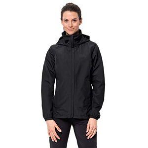 Jack Wolfskin Women's Stormy Point Hardshell Jacket, Black, Medium