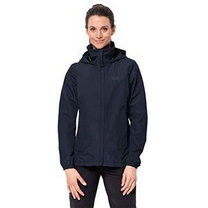 Jack Wolfskin Women's Stormy Point Hardshell Jacket, Midnight Blue, Medium