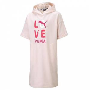 Puma Girls' Alpha Dress G, pink, 6 Years