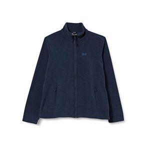 Jack Wolfskin Women's Skywind Fleece Jacket, Midnight Blue, Size 6