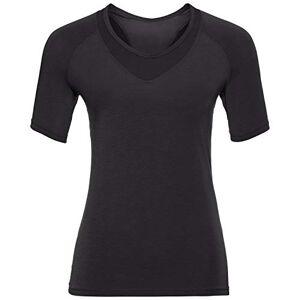 ODLO T-Shirt Crew Neck Lou Mesh Women' S T-Shirt - Black, X-Large