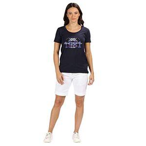 Regatta Women's Solita Cotton Multi Pocket Active Shorts, White, Size 18