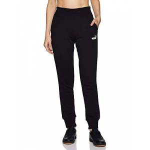 Puma Women's ESS TR cl Sweat Pants, Cotton Black, X-Large