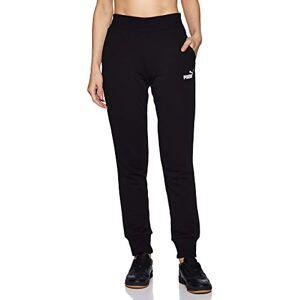 Puma Women's ESS TR cl Sweat Pants, Cotton Black, X-Large
