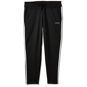 adidas Women's Design 2 Move 3-Stripes Pants, Black, Large