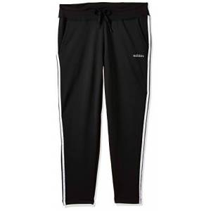 adidas Women's Design 2 Move 3-Stripes Pants, Black, X-Large