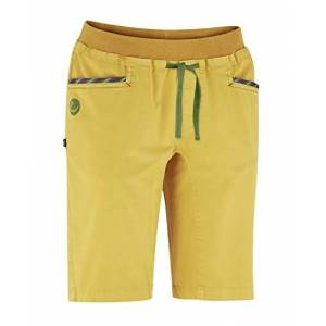 Edelrid Gmbh & Co. Kg Edelrid Glory Women's Shorts, Womens, Shorts, 491860490380, Goldgelb, M