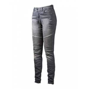 Jdd4009-32/34 John Doe Betty Pants XTM Motorcycle Pants XTM Insertable Protectors Breathable Motorcycle Jeans Denim Jeans with Stretch Light Grey