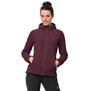 Jack Wolfskin Women's Skywind Hooded Fleece Jacket, Fall Red, Size 5