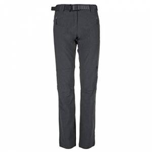 Kilpi Women's Wanaka Trousers Dark Grey Size UK 6