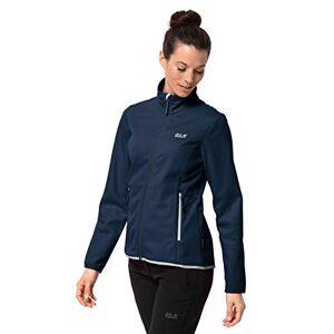 Jack Wolfskin Women's Hydro Fleece Jacket, Midnight Blue, Size 6