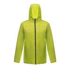 Regatta Men's Avant Rainshell Raincoat, Multicoloured (Lime Zest/Black), Large (Manufacturer Size:L)