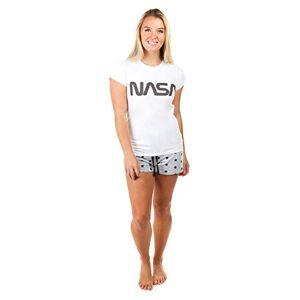 Creative Labs Nasa Women's Title Pajama Set, Multicolours, Medium