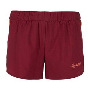 Kilpi Women's Lapina Running Shorts Dark Red Size UK 6