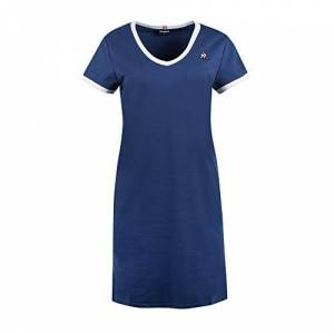Le Coq Sportif Women's ESS Robe N°1 W Dress, Working Blue, XS