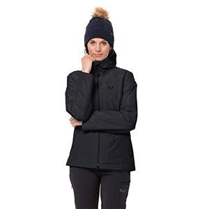 Jack Wolfskin Chilly Morning Women's Jacket, Black (schwarz), 14 (Manufacturer Size: M)
