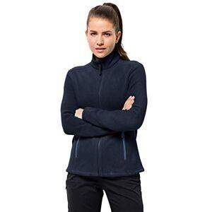 Jack Wolfskin Women's Moonrise Fleece Jacket, Midnight Blue, Medium