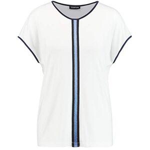 Taifun Women's 571009-16011 T-Shirt, Off-White, XXL