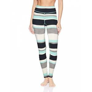 Helly Hansen Hellyhansen Women's Mid Graphic Pants, Blue Tint Stripe, X-Large
