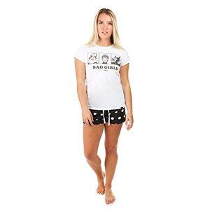 Creative Labs Disney Women's 3 Bad Girls Pyjama Set Pajama, Multicoloured, Large