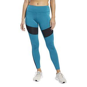 Reebok Wor Mesh Tight Leggings, Women, Seatea, M