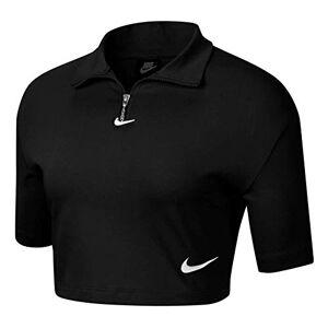 Nike Sportswear Swoosh, Unisex Short Sleeve Jersey Adult, Black Or Grey, XS