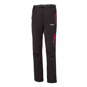 izas osaje – Women's Mountain Trousers multi-coloured black / red Size:Large