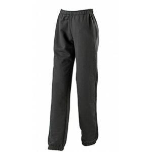 James & Nicholson Women's Laufhose Jogging Maternity Trousers, Black (Black), (Size: Large)