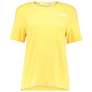 O'Neill Selina Graphic Short Sleeve T-Shirt, Women, Womens, Short0Sleeved T-Shirt, 0A7310, Yellow (Golden Rod), XS