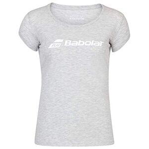 Babolat Women's Exercise Tee W T-Shirt, High Rise Heather, XS