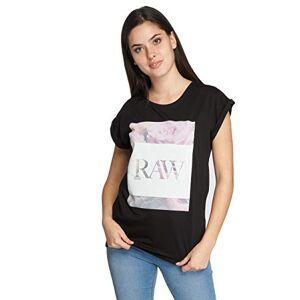 MERCHCODE Women's Ladies Hustler Raw Tee black XS T-Shirt