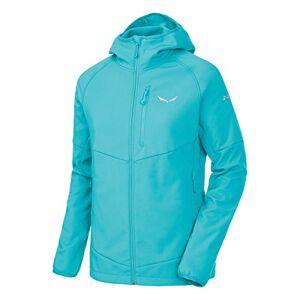 Salewa Puez Pl W FZ HDY Women's Zip Sweatshirt, womens, 00-0000025876_40/34_A, Blue (Capri), UK 6