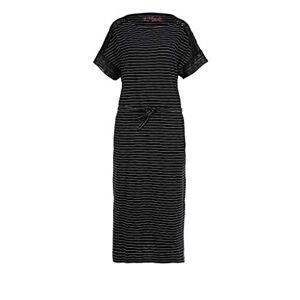 s.Oliver Women's Kleid Dress, 99g5 Black Stripes, X-Large