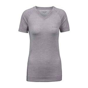 FALKE Women's Wool-Tech Light T-Shirt, Grey-Heather, XS