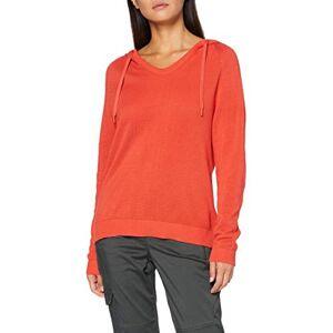 Cecil Women's 301267 Hoodie Hooded Sweatshirt, Orangepumpkin Orange, Large