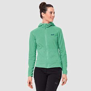 Jack Wolfskin Arco Fleece Jacket Women's Fleece Jacket - Pacific Green Stripes, X-Large