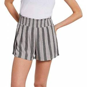 Volcom Women's Coco Smocked Short, multi-coloured, M