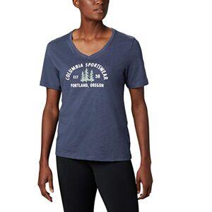 Columbia Mount Rose Short Sleeve T-Shirt - Blue, XS
