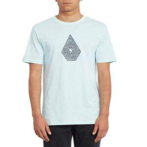 Volcom Men's Shatter Bsc SS T-Shirt, Resin Blue, S